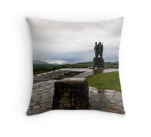 Commando Monument Throw Pillow