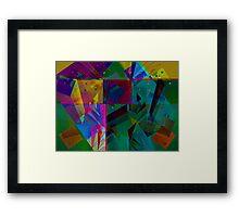 Many Motives Framed Print