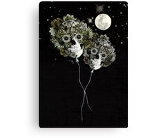 To the moon and back Canvas Print