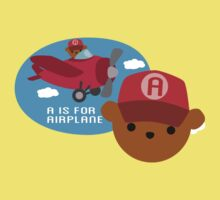 "ABC Bears ""A is for Airplane"" Kids Clothes"