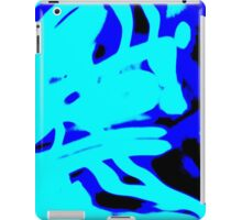 Blue Light Wave,abstract iPad Case/Skin