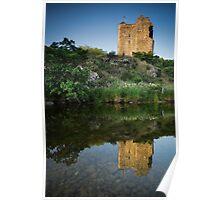 Neidpath Castle, Peebles Poster