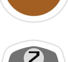 ABC Bears set - Y to Z - small stickers Sticker