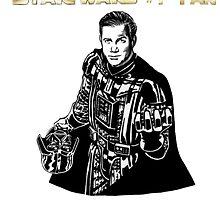 Star Trek Wars sci-fi homage  by BaboonArt