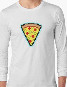 Pixel Pizza Long Sleeve T-Shirt