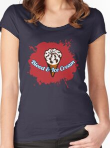 Blood & Ice Cream Women's Fitted Scoop T-Shirt