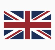 Flag of the United Kingdom, Union Jack, British flag by TOM HILL - Designer