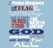 The Pledge of Allegiance  Kids Tee