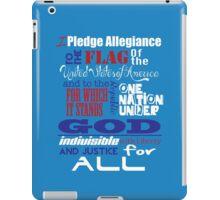 The Pledge of Allegiance  iPad Case/Skin
