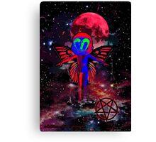 El Diablo_Pixie In The Sky Canvas Print