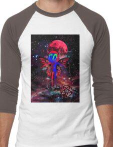 El Diablo_Pixie In The Sky Men's Baseball ¾ T-Shirt