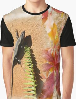 African Striped Skink Graphic T-Shirt