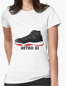 Retro XI Womens Fitted T-Shirt