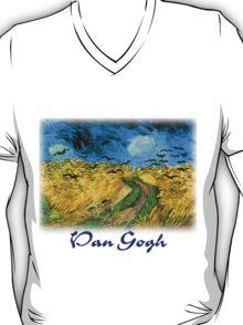 Vincent Van Gogh - Wheat Field Under Threatening Skys T-Shirt