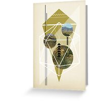 Cubed Nature Greeting Card