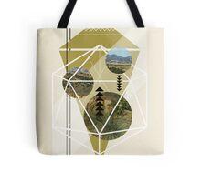 Cubed Nature Tote Bag