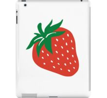 Red strawberry iPad Case/Skin