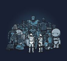 These aren't the droids you are looking for by Wirdou