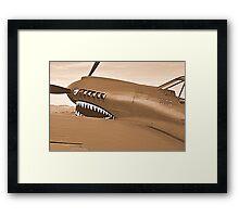 Warhawk Framed Print