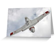 Aero L-29 Delfin Greeting Card