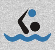 Water polo logo One Piece - Long Sleeve