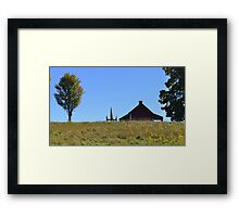 Early American Stand Framed Print