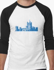 Downton skyline Men's Baseball ¾ T-Shirt
