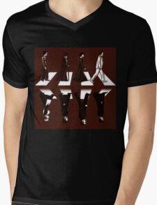 Downton Abbey Beatles Style Mens V-Neck T-Shirt