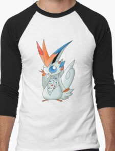 Pokemon Fusion: Victokiss Men's Baseball ¾ T-Shirt