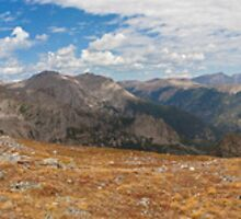 On The Way To Flattop Mountain, Colorado by Richard Bruneau