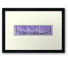Yoga Progression Framed Print
