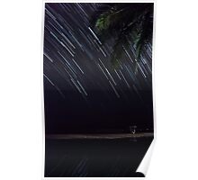 Star Trails - Goa Poster