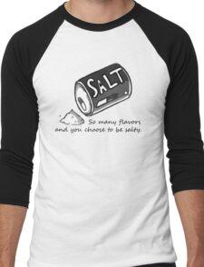 PJSalt V1 (black text) Men's Baseball ¾ T-Shirt