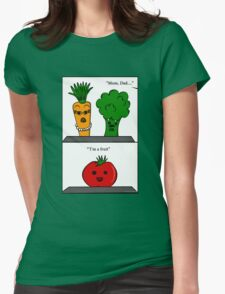 SLOIO- I'm A Fruit Womens Fitted T-Shirt