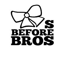 bows before bros Photographic Print