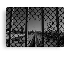 San Diego Overpass Canvas Print