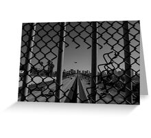 San Diego Overpass Greeting Card