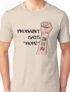 Bad Decisions (It says Brocolli) Unisex T-Shirt