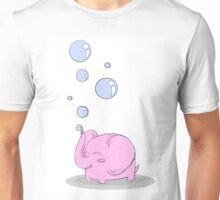 Bubble elephant T-shirt Unisex T-Shirt