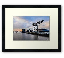 Clydeside Sunset Framed Print