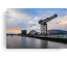 Clydeside Sunset Canvas Print