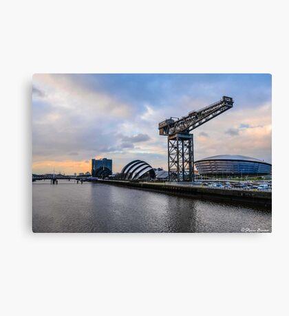 Clydeside Sunset Canvas Print