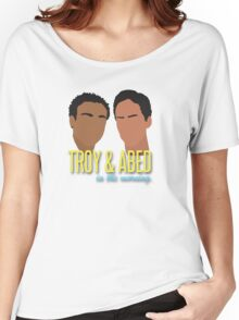 Troy & Abed in the Morning Women's Relaxed Fit T-Shirt