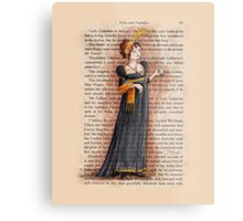 Pride and Prejudice - Caroline Bingley Metal Print