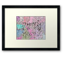 Miss Me? - Moriarty Framed Print