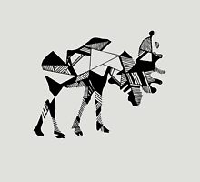Timid Minimalist Graphic Moose Unisex T-Shirt