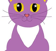 Only One Purple Kitty by Jean Gregory  Evans