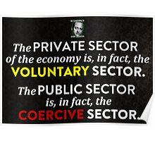 Henry Hazlitt Voluntary Sector Poster