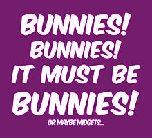 It must be bunnies by Nana Leonti