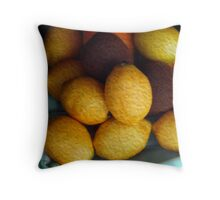 Lemon Eggs  Throw Pillow